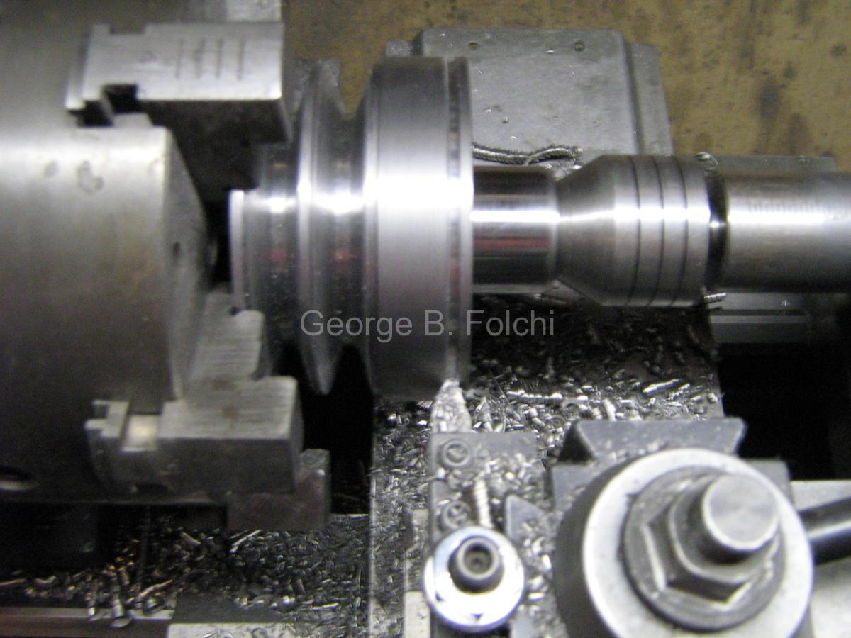 Pully groove cutting, MG-26